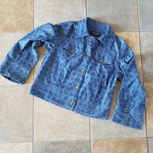 Laundry, by Shelli Segal Cotton Jacket
